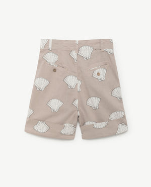 Monkey kids bermudas - beige shells