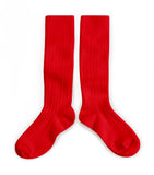 Knee high socks - vrai rouge