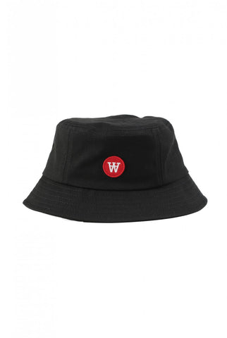 Val buckhet hat - black