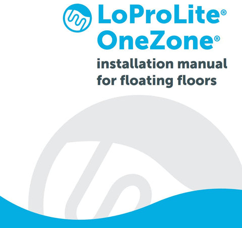 LoProLite floating underfloor heating kit