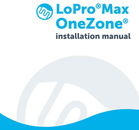 LoProMax OneZone underfloor heating kit