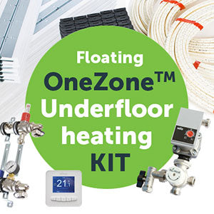 Floating OneZone™ underfloor heating kit