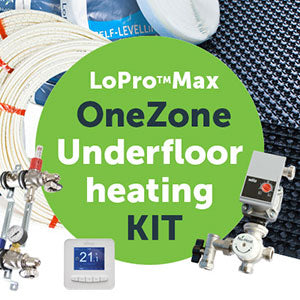 LoPro™Max OneZone™ underfloor heating kit