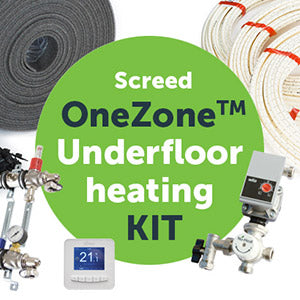 Screed OneZone™ underfloor heating kit