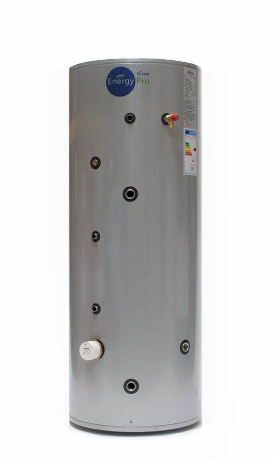 150-500 Litre Stainless Steel Indirect Unvented Hot Water Cylinder
