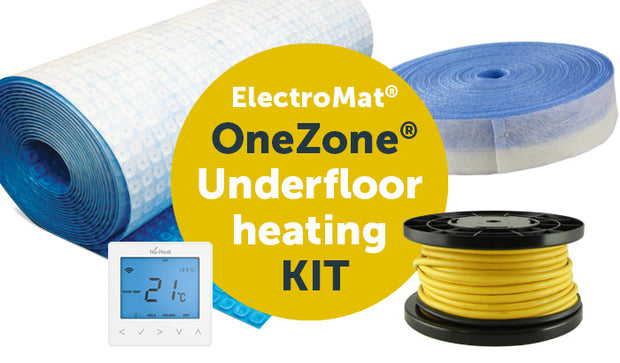 ElectroMat® OneZone® underfloor heating kit