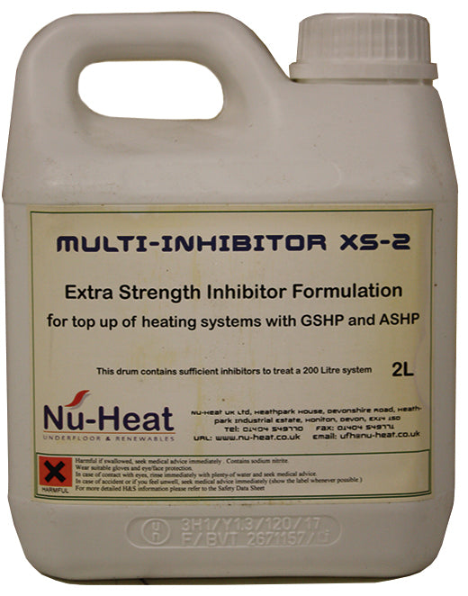 2 litre inhibitor solution