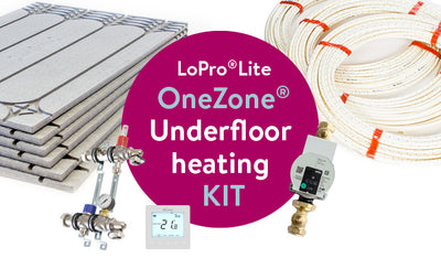 LoPro®Lite OneZone® underfloor heating kit