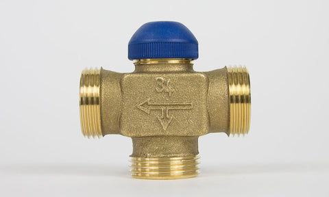 "MPBV075/1-C - Three-way 3/4"" injection valve"