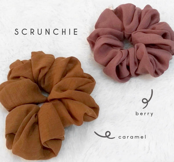 Scrunchies Berry Caramel
