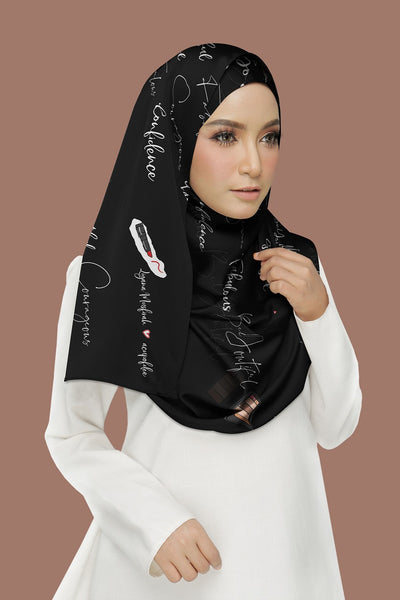 Confidence Black Shawl
