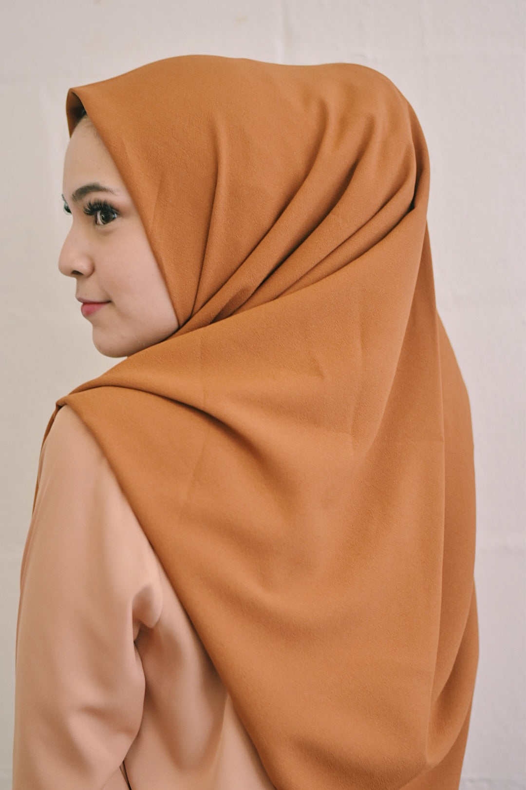 Copper Tan Chiffon Diamond (Instant Square)