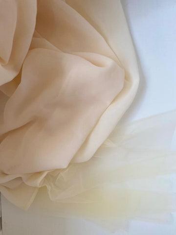 Soft Vanilla Tulle (NEW COLOUR)