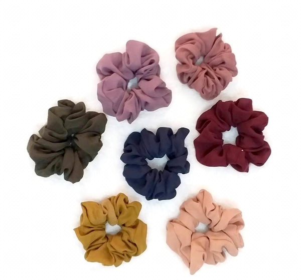 Scrunchies Plum Galaxy