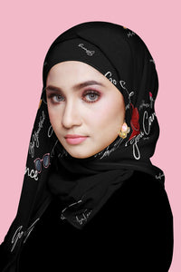 Confidence Special Black Shawl