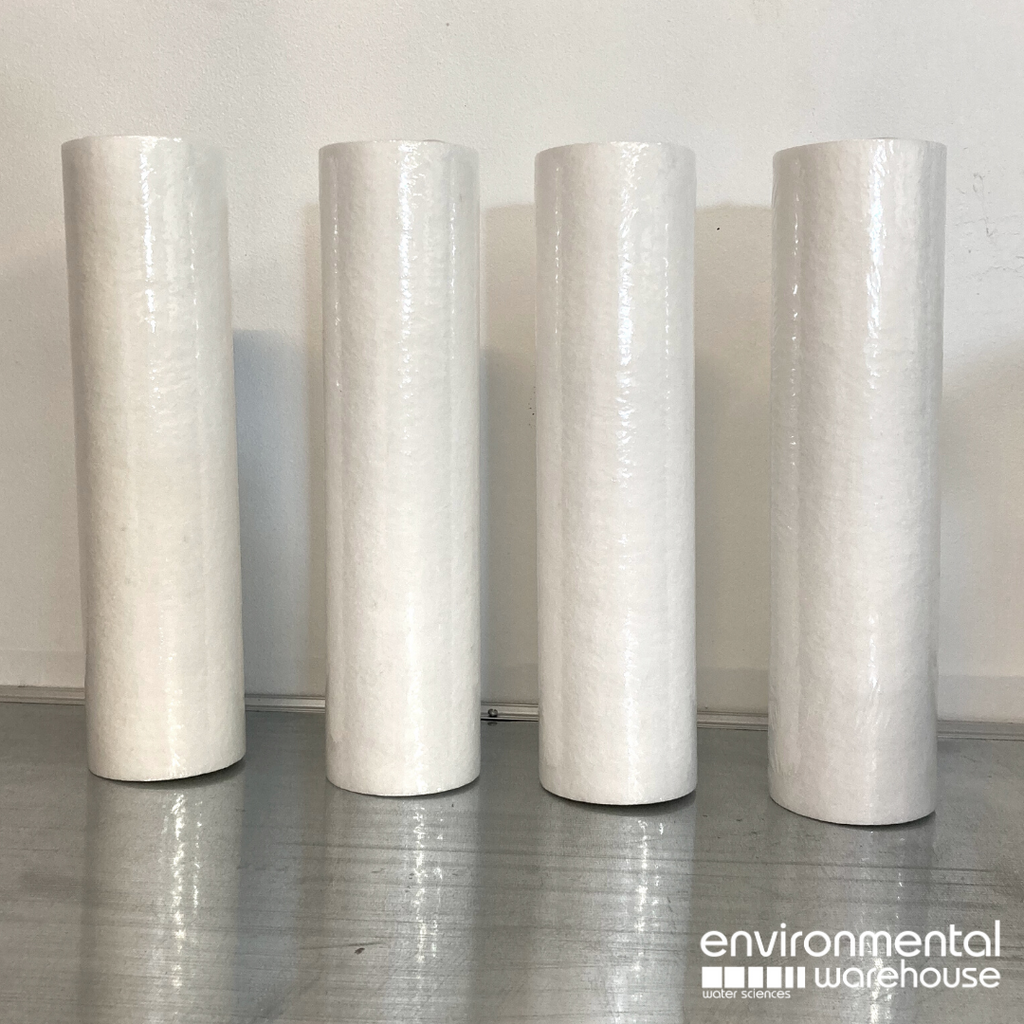 Sediment Filter - 1 Micron Single Use | 4 PACK - Part No. HW1001
