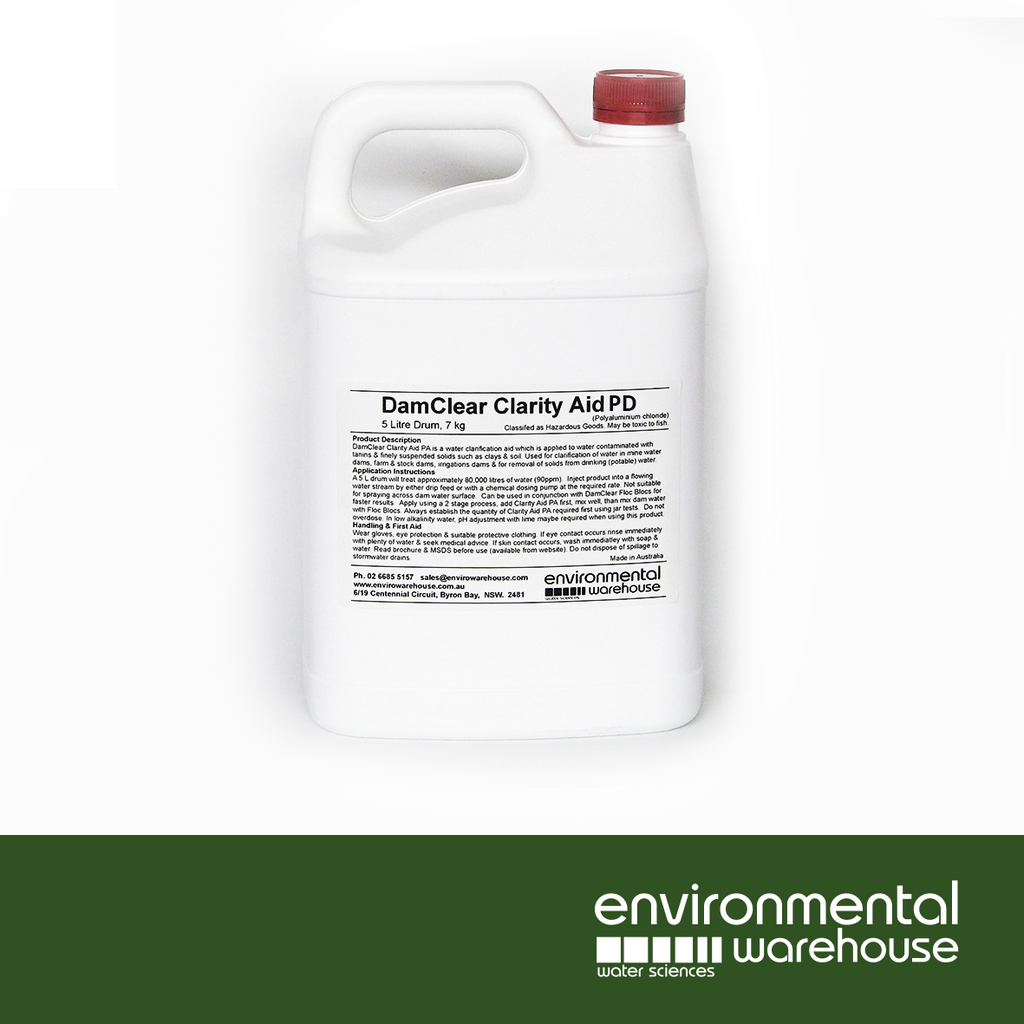DamClear Clarity Aid PD | 5L Bottle