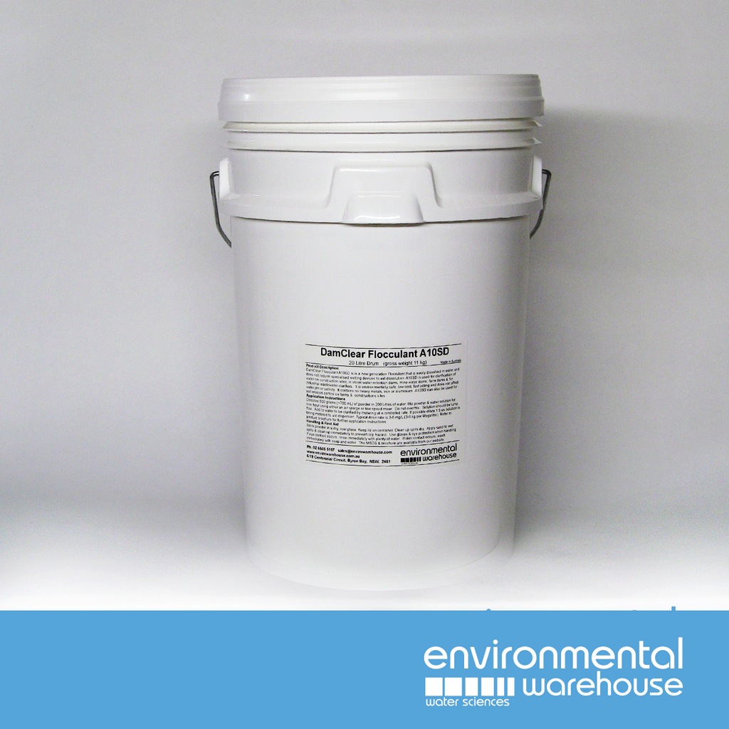 DamClear Self Dispersing Flocculant A30SD | 11kg Drum