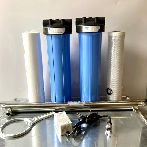 Whole Of House Filtration + UV Disinfection - Model HW-345