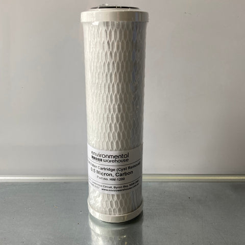 Carbon Filter - 0.5 Micron - Part No. HW1200