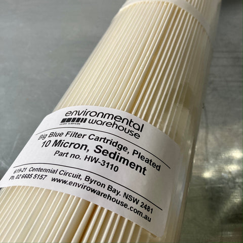 Sediment Filter - 10 Micron Washable |  Part No. HW3110