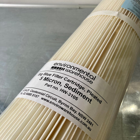 Sediment Filter - 5 Micron Washable |  Part No. HW3105