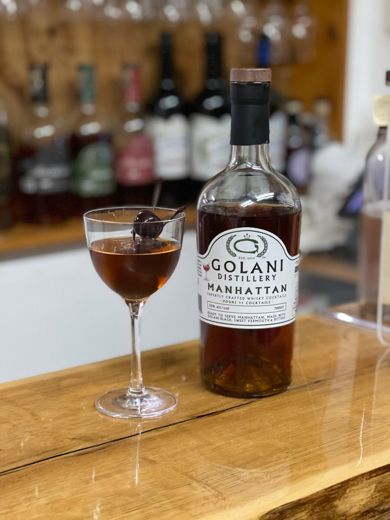 MANHATTAN - EXPERTLY CRAFTED WHISKY COCKTAILS SERIES