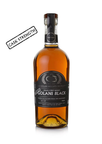 CS 58.1% -Single Cask- Golani Black Two Grain Israeli Whisky matured In new charred Casks cask # 54