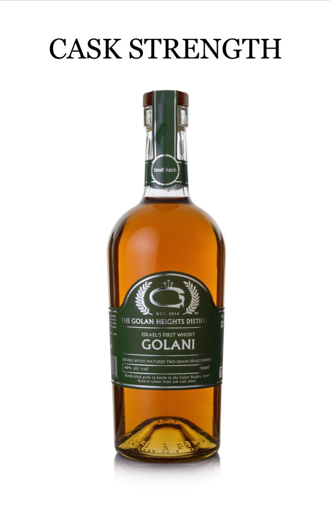 CS 64.2% Golani Original - Cask Strength Version of our flagship Golani