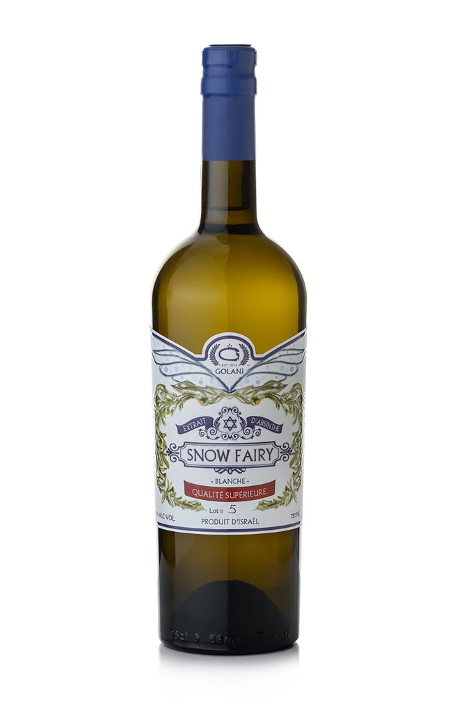"Snow Fairy traditional ""blanche"" Swiss style Absinthe 750 ml 53%"