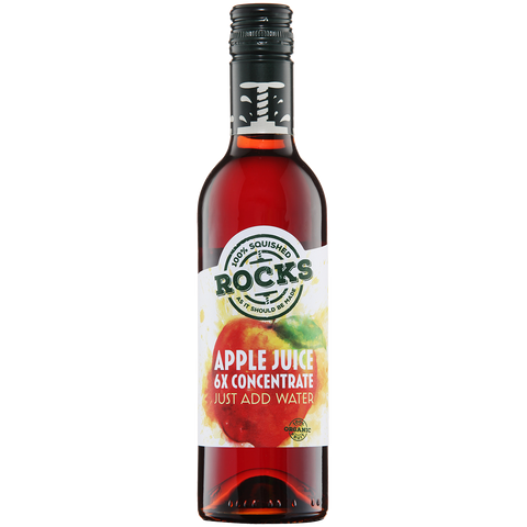 Rocks Organic Apple Juice Concentrate 360ml
