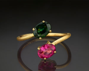 """Majoris""- Tourmaline Cocktail Ring."