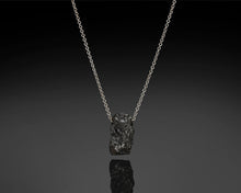 "Load image into Gallery viewer, ""Gravity""- Rough Diamond Pendant."