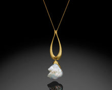 "Load image into Gallery viewer, ""Rise""- Versatile Pearl Necklace."