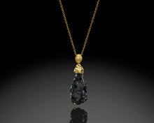 "Load image into Gallery viewer, ""Ray Of Light""- Tektite Rotating Pendant."