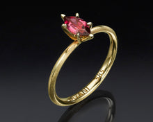 "Load image into Gallery viewer, ""Or-Tal""- Tourmaline Engagement Ring."