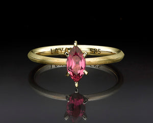 """Or-Tal""- Tourmaline Engagement Ring."