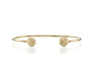 """Yellow-tail""- Nuggets Diamond Bangle."