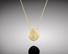 "Load image into Gallery viewer, ""Arthropod""- Gold Nugget Necklace."