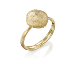 """Cushion Star"" - Gold Nugget Ring"