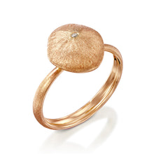 "Load image into Gallery viewer, ""Cushion Star"" - Gold Nugget Ring"