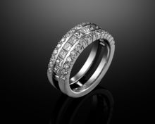 Load image into Gallery viewer, Princess Diamond Eternity Ring