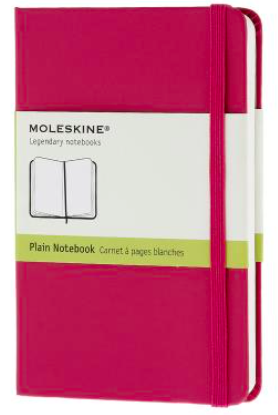MAGENTA PLAIN NOTEBOOK POCKET