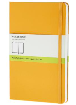 YELLOW PLAIN NOTEBOOK POCKET