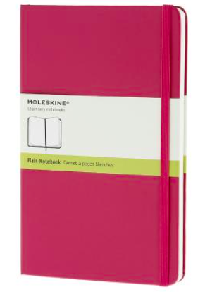 MAGENTA PLAIN NOTEBOOK LARGE