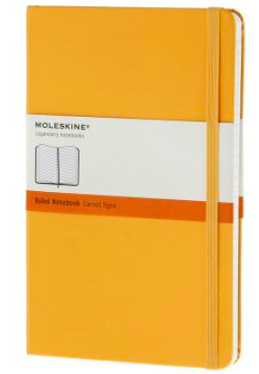 YELLOW RULED NOTEBOOK LARGE