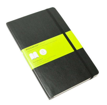 SOFT PLAIN NOTEBOOK LARGE