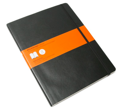 SOFT RULED NOTEBOOK XL