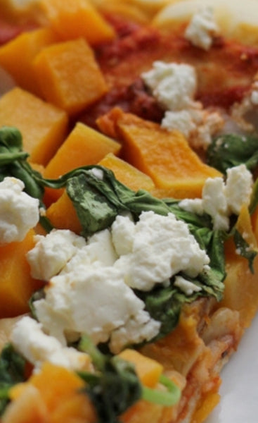 Pizza pumpkin & Feta