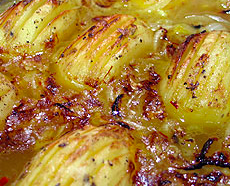 Slow roast potato
